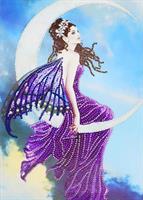 Diamond painting, Engel lilla 30*40cm (R8455) AP