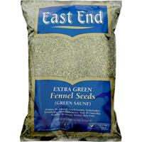 East End Fennel Seeds (Green Saunf) 15x375grams
