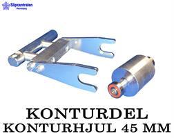 KONTURDEL + KONTURHJUL Ø 45 MM