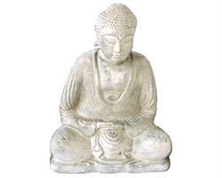 Buddha - Vit 30cm (3 pack)