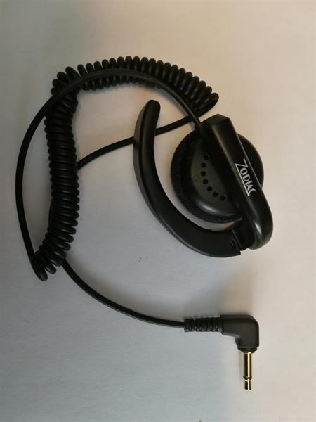 Zodiac earphone with open earhook 3,5mm