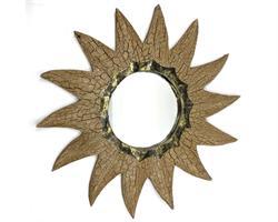 Spegel - Antik sol 40cm (6 pack)