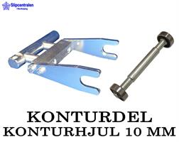KONTURDEL + KONTURHJUL Ø 10 MM