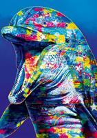 Puslespill Dophin, 1000 brikker