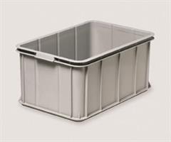 Transport og oppbevaringskasse 55 liter grå
