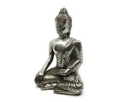 Brons - Silver Buddha 11cm (2 pack)