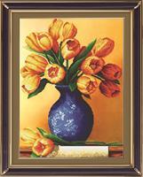 Diamond Painting, Tulipaner i vase 42*56cm (71325) DPR