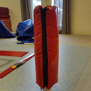 polstring stolpe diameter:  5-9 cm høyde 120