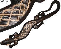 Mask - Gecko zigzag guld (4 pack)