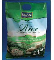 East End Fusion Basmati Rice (Blend) 1x5kg