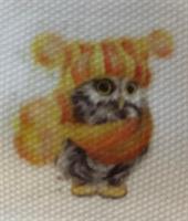 Diamond Painting, Ugle orange 30*40cm (9730) FPK