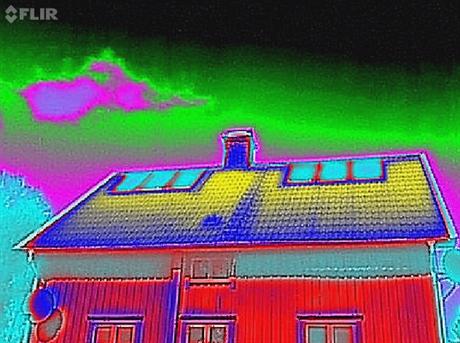 Flir IR Kamera visar temperatur på LESOL 5AR