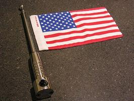 Billet Flag Pole for 6 x 9 Flags