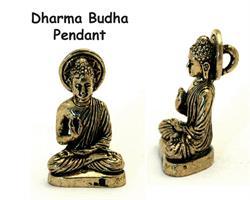 Halsband - Brons Buddha Dharma (4 pack)