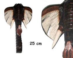 Mask - Elefant 25cm (4 pack)