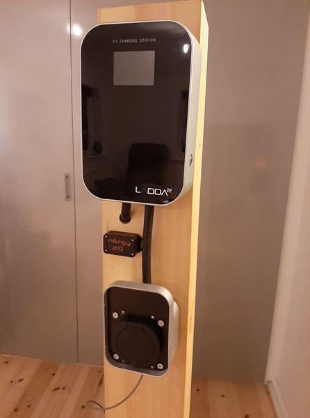 LADDA11 - Laddbox elbilar 3-fas 11kW Typ 2