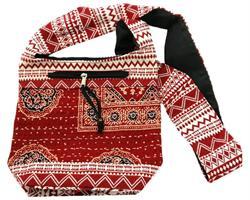 Väska - Boho röd (4 pack)