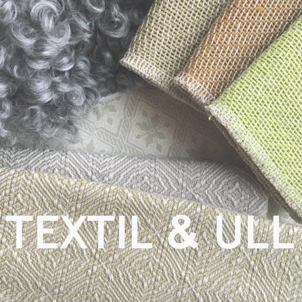 fårfällar och lintextilier