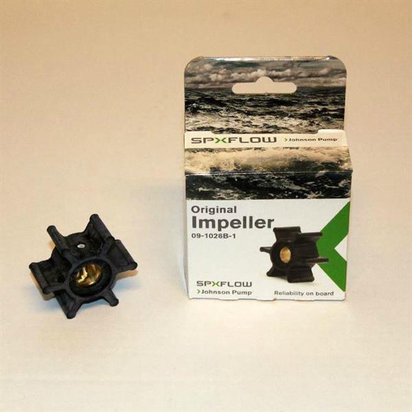 Impeller SPX Johnson, Ø 50,8mm, b: 22mm, axel Ø 12,7