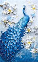 Diamond Painting, Påfugl 52*96cm FPR