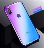 iPhone Xs / X Deksel Shockproof, Blå/Lilla