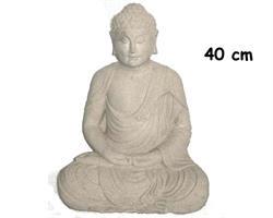 Buddha - Vit 40cm (2 pack)