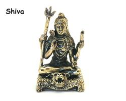 Brons - Miniatyr Shiva (2 pack)