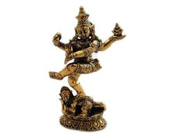 Brons - Miniatyr Shiva Nataraja III (2 pack)
