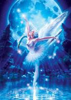 Puslespill Swan Lake Ballet, 1000 brikker