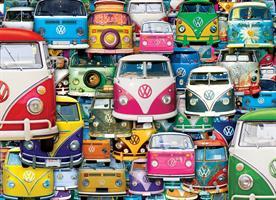 Puslespill VW Funky Jam, 1000 brikker