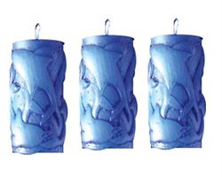 Doftljus - Persika delfiner set (6 pack)