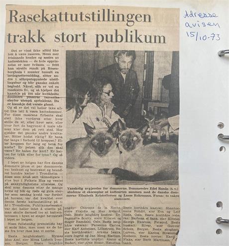 Adresseavisen 15.10.1973