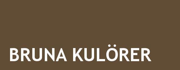 bruna kulörer linoljefärg