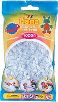 Hama perler Midi, Selvlysende Blå 207-57 1000stk