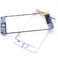 Glass/Ramme & OCA - iPhone 5 - Bk