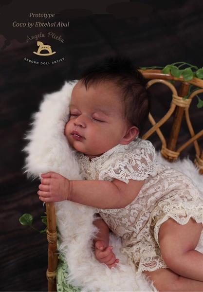 """PREORDER Coco av Ebtehal Abul Reborn Kit 20"""""""