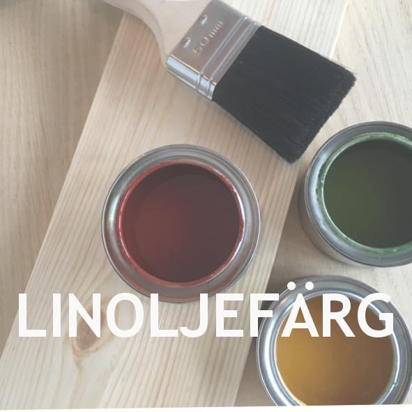Linoljefärg från Ottossons färgmakeri
