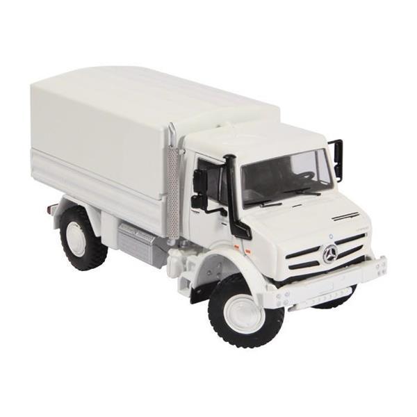 NZG MB Unimog U 5000 White