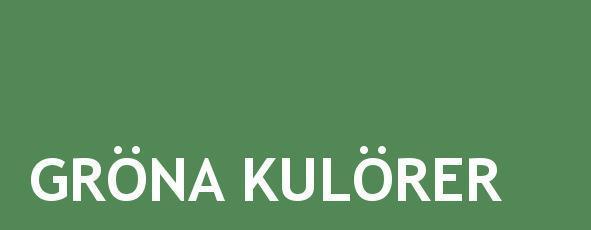 gröna kulörer linoljefärg