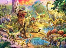 Puslespill Dinosaurs, 500 brikker
