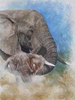 Diamond Painting, Elefant 24,5*34,5cm (A293) FPR