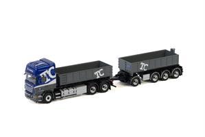 WSI Scania R TC Trading med krokløft og henger