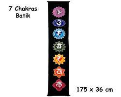 Wallhanging - Chakras batik (2 pack)