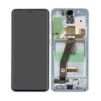 Samsung Galaxy S20 (SM-G980F) skjerm - Blå