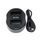 Dobbeltlader for Nikon EN-EL20  batterier