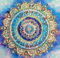 Diamond Painting, Mandala 24*24cm (DZ044) AP