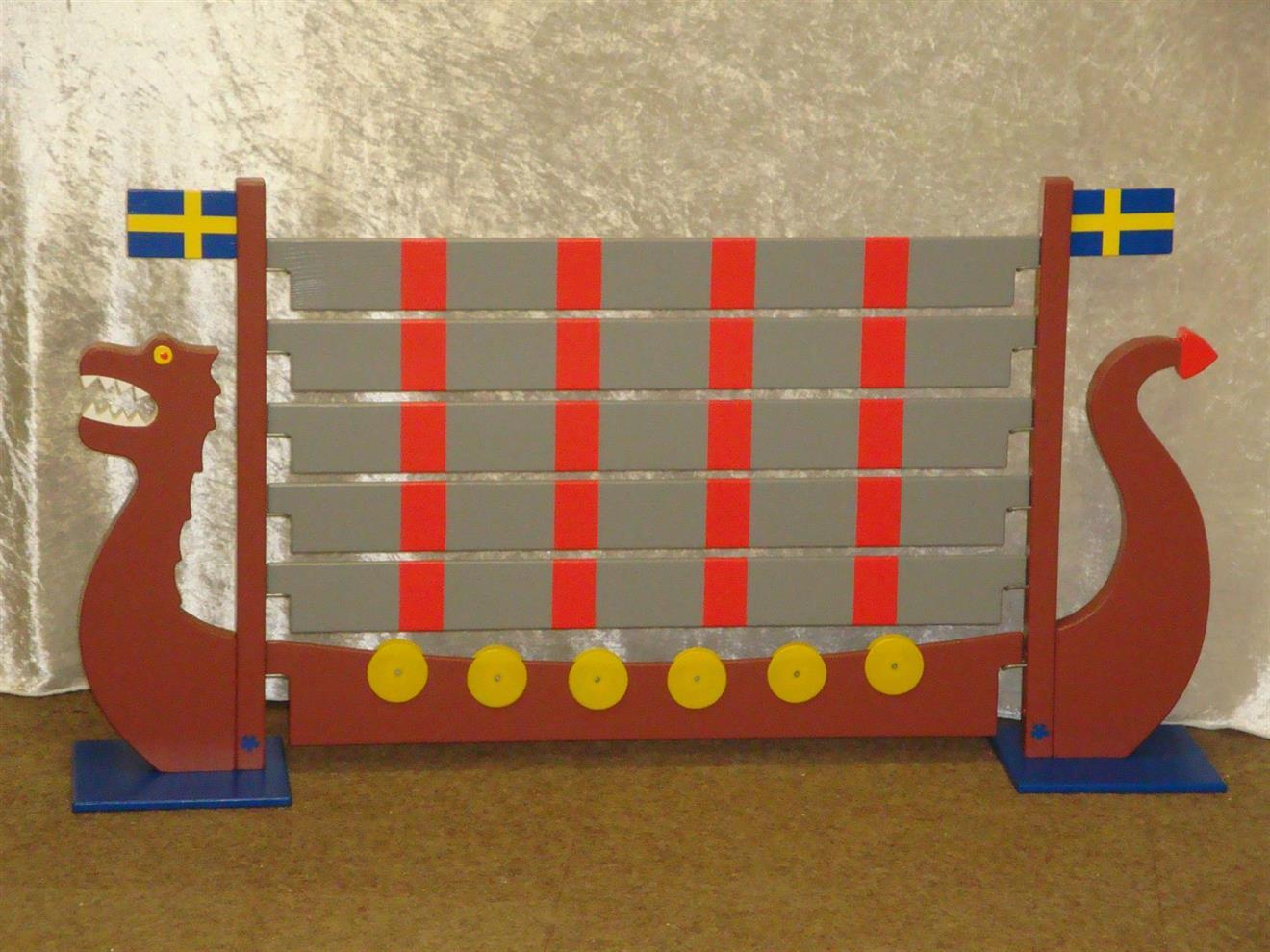 Vikingaskeppet med plank