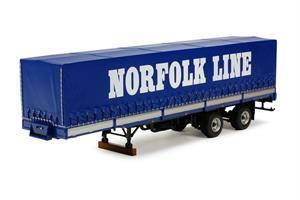 Tekno 0090 3-axle trailer Norfolk (TP)