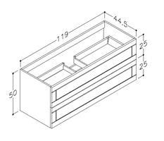 Underskåp Adagio 120 cm