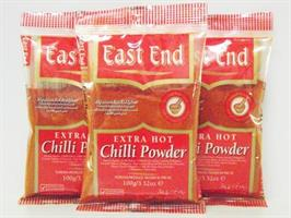 East End Chilli Powder E/Hot 6x1kg
